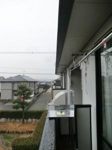 雨がかかる